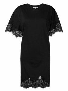 McQ Alexander McQueen lace T-shirt dress - Black