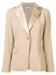 P.A.R.O.S.H. one-button blazer - NEUTRALS
