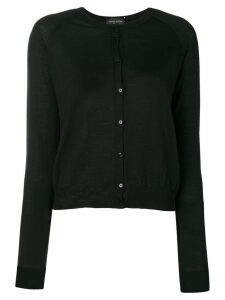 Roberto Collina classic knit cardigan - Black