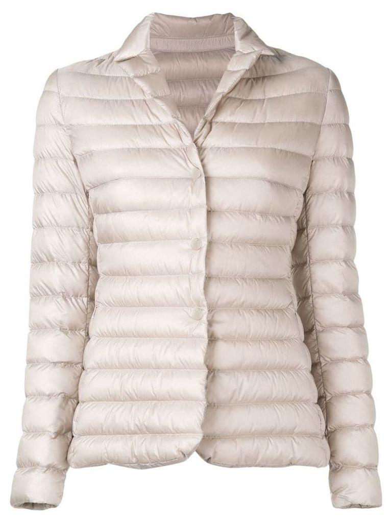 Moncler quilted blazer - Neutrals