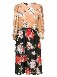 Rochas two-tone dress - Neutrals