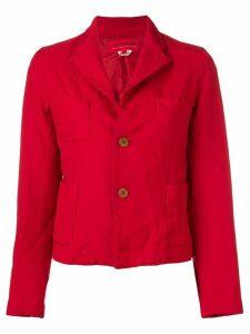Comme Des Garçons Girl boxy fit jacket - Red