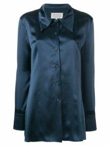 Maison Margiela fitted shirt - Blue
