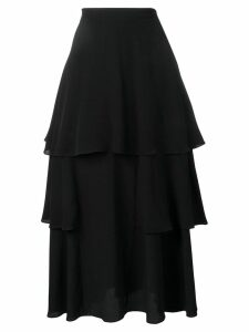 Stella McCartney tiered ruffled skirt - Black