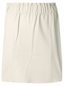 Federica Tosi high-waisted skirt - Neutrals