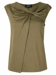 Paule Ka sleeveless fitted top - Green