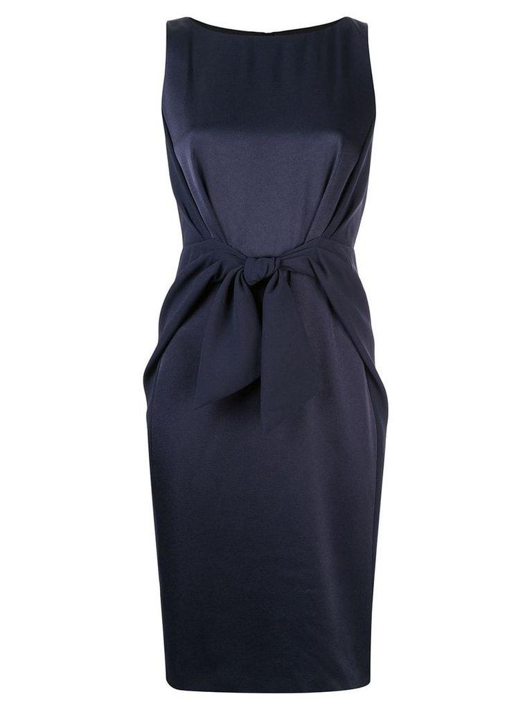 Paule Ka sleeveless fitted dress - Blue