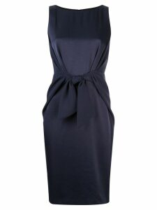 Paule Ka sleeveless fitted dress - Blue