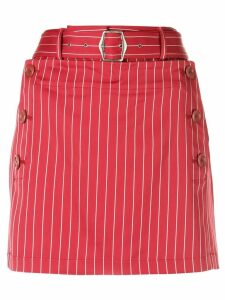 Sies Marjan short belted skirt - Red
