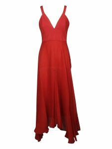 Dondup V-neck Long Dress