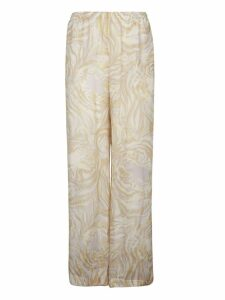 See by Chloé Wide Tiger Print Trousers