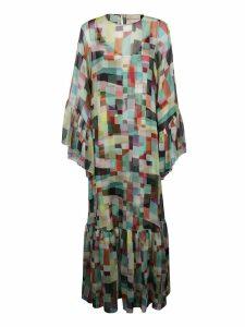 Erika Cavallini Abstract Print Dress