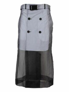 Maison Margiela Mesh Layered Skirt