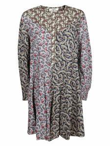 Isabel Marant Étoile Lissande Contrast Floral Print Dress