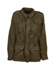 John Richmond Embellished Parka