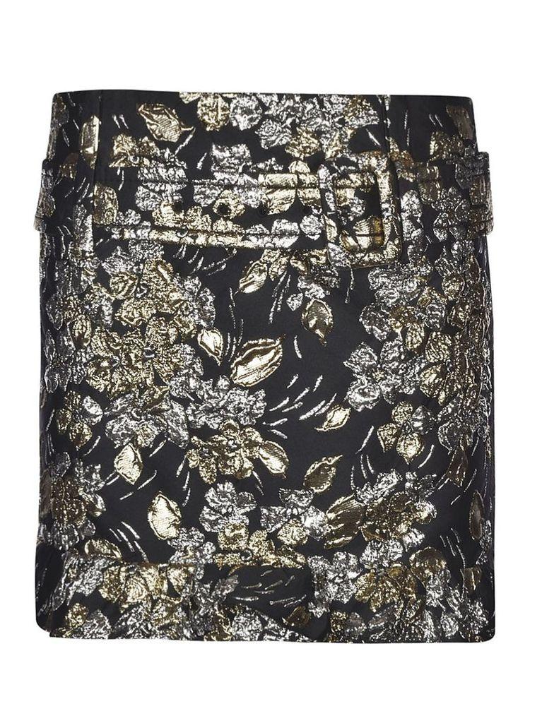 Prada Cloque Skirt