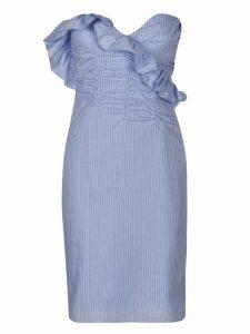 ALEXACHUNG Ruffled Dress