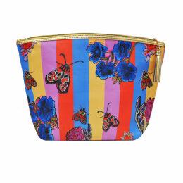 Jessica Russell Flint - Xl Vegan Circus Stripe Washbag & Giftbox