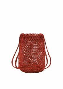 Braided net bag