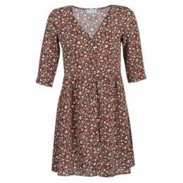 Casual Attitude  KORI  women's Dress in Brown