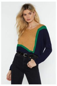 Round the Colorblock Sweater