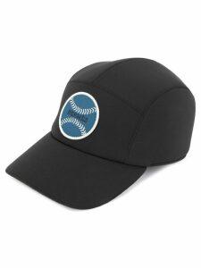 Hermès Pre-Owned logo casket hat cap - Black