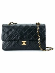 Chanel Pre-Owned quilted CC logo double flap chain shoulder bag -