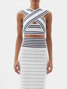 Mes Demoiselles - Habibi Ruffled Skirt - Womens - Khaki