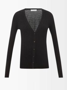 Mes Demoiselles - Otello Ruffled Asymmetric Cotton Skirt - Womens - Dark Orange