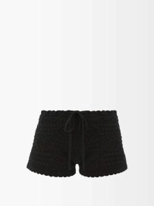 Love Binetti - Simple Minds Tiered Cotton Dress - Womens - Blue