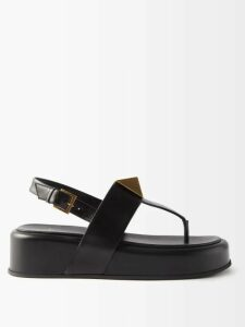 Chloé - Little Horses Appliqué Panelled Satin Midi Dress - Womens - Beige Multi