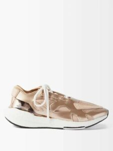 Gucci - Poppy Print Silk Jacquard Blouse - Womens - Pink Multi