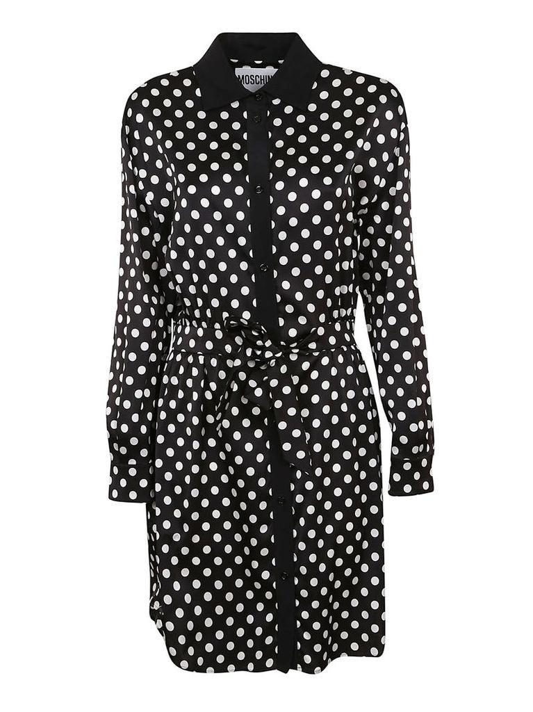 Moschino Polka Dots Shirt Dress