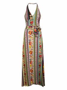 Etro Patchwork Belted Dress