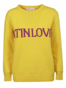 Alberta Ferretti Love Is Love Sweater