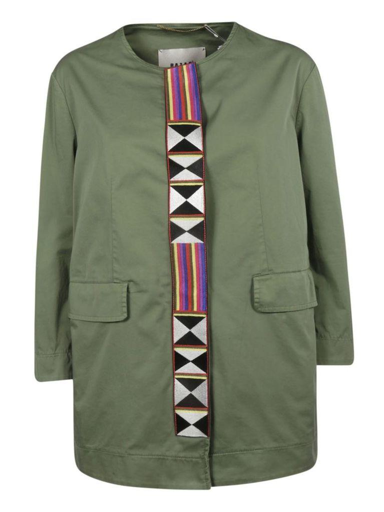 Bazar Deluxe Embroidered Coat
