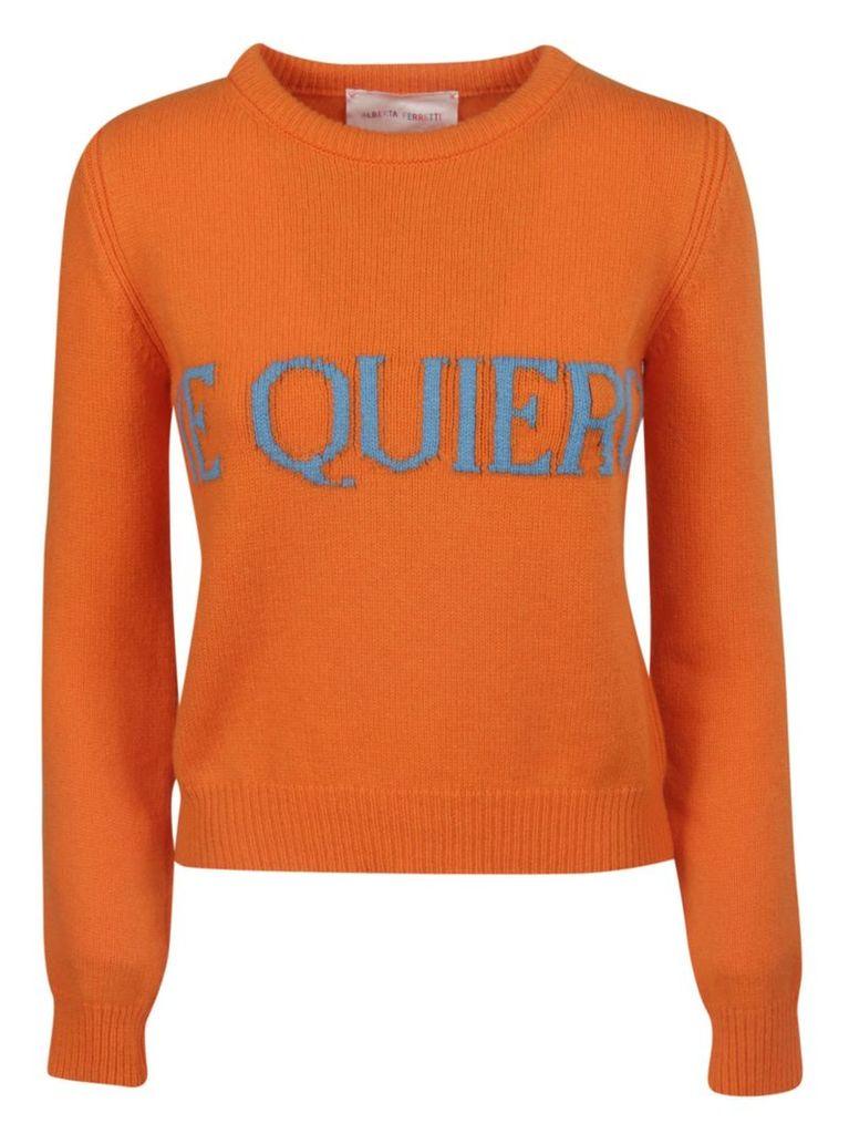 Alberta Ferretti Te Quiero Sweater