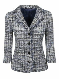 Tagliatore Fringed Edges Blazer