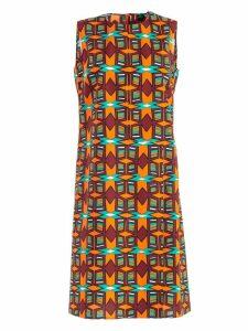 Aspesi Macro Square Print Dress