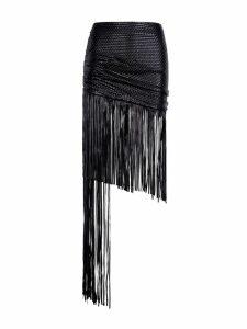 Magda Butrym Magda Butrym Asymmetric Fringed Skirt
