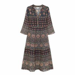 Velvet By Graham & Spencer Zendaya Printed Chiffon Dress