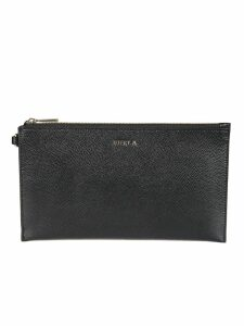 Furla Logo Plaque Clutch