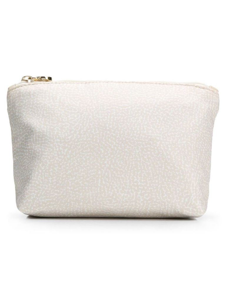 Borbonese Micro-printed Small Pouch