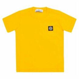 Stone Island Logo Cotton T-shirt