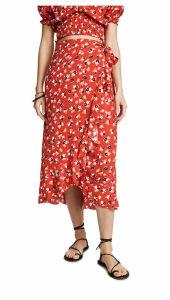 FAITHFULL THE BRAND Celeste Wrap Skirt