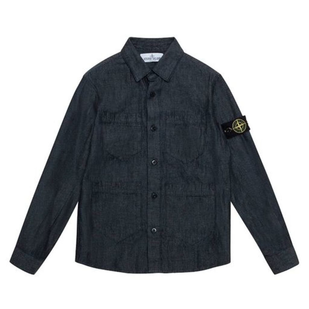 Stone Island Denim Pocket Shirt