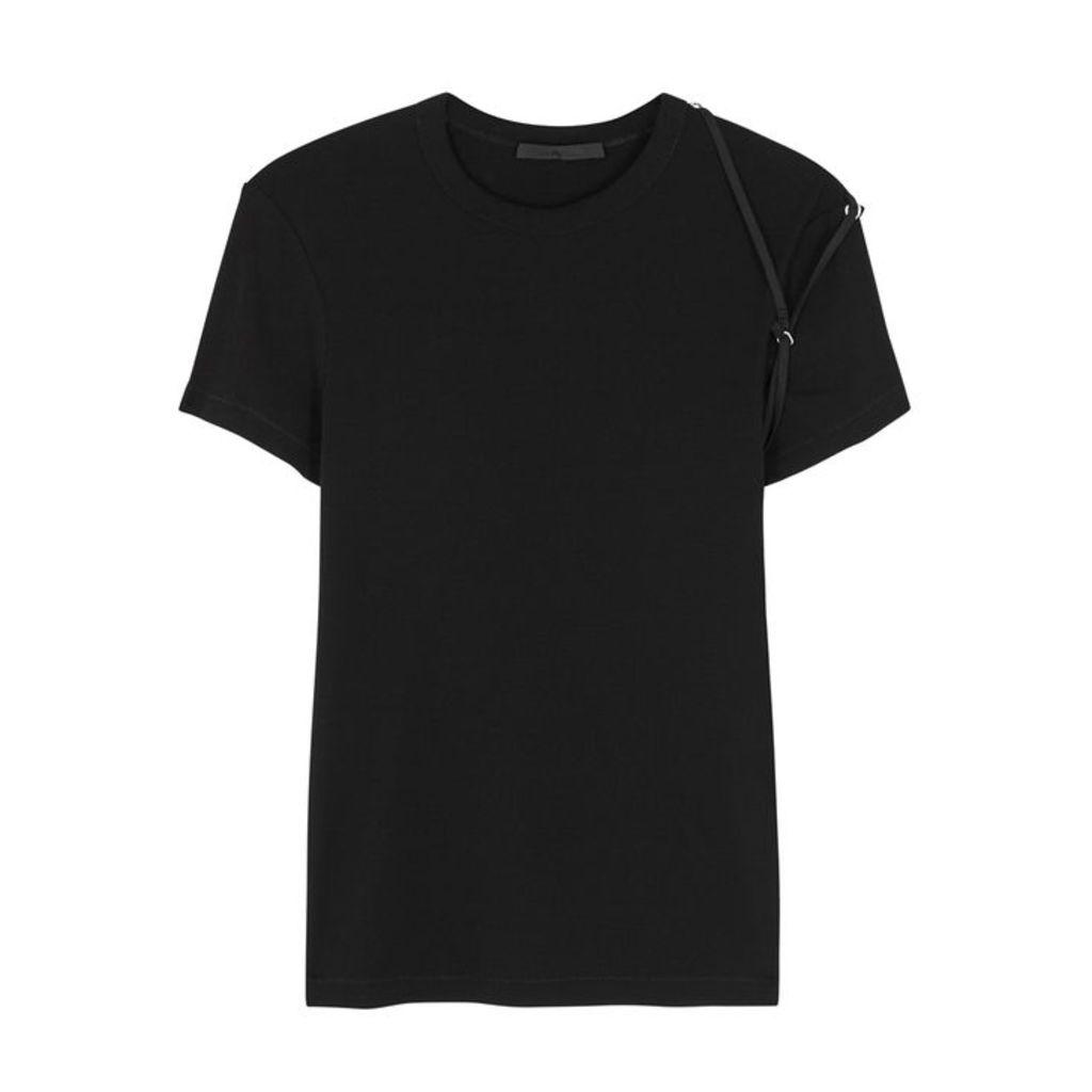 Helmut Lang Black Cotton T-shirt