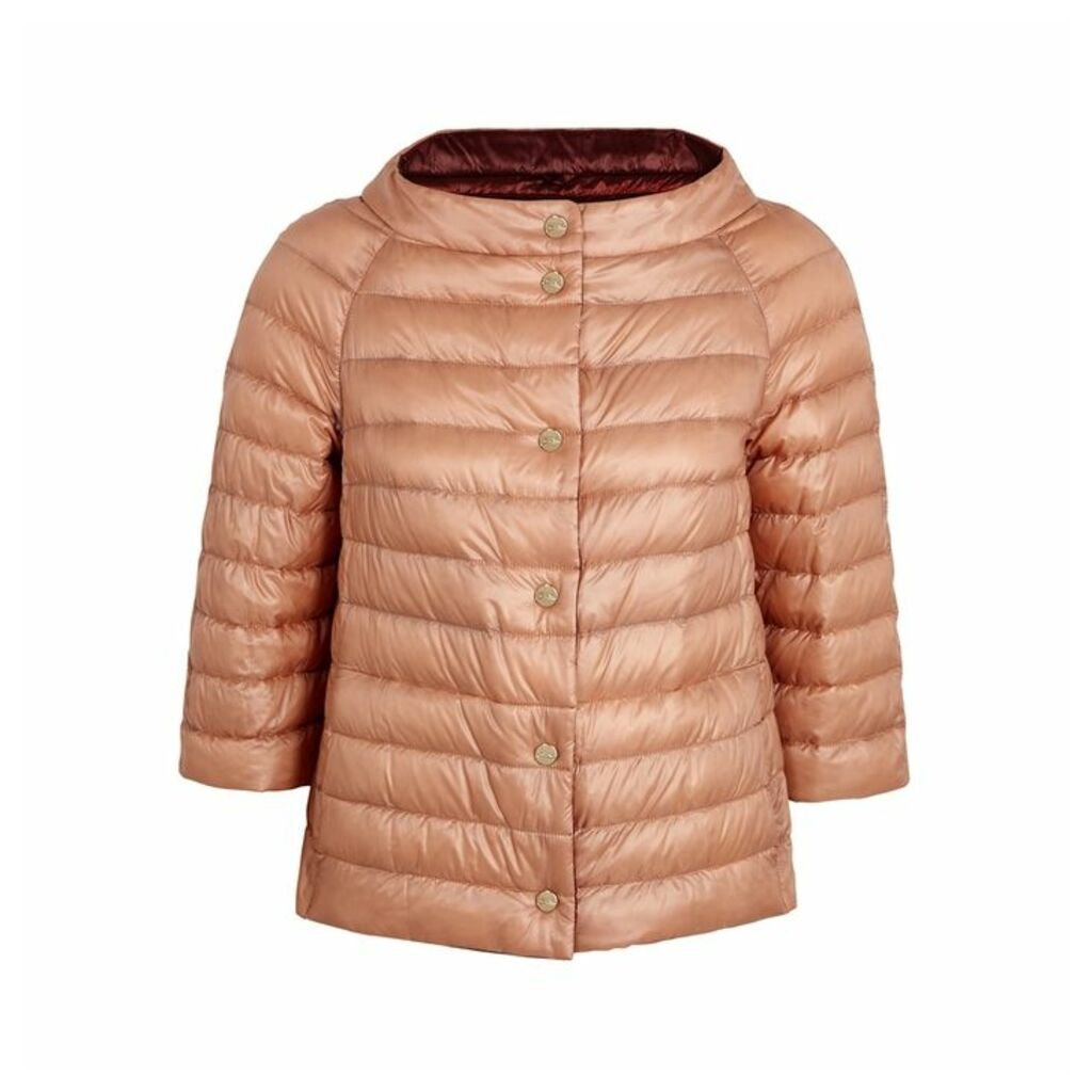 Herno Rose Reversible Quilted Shell Jacket