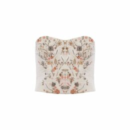 IMAIMA - Maha Hand Embroidred Top In White