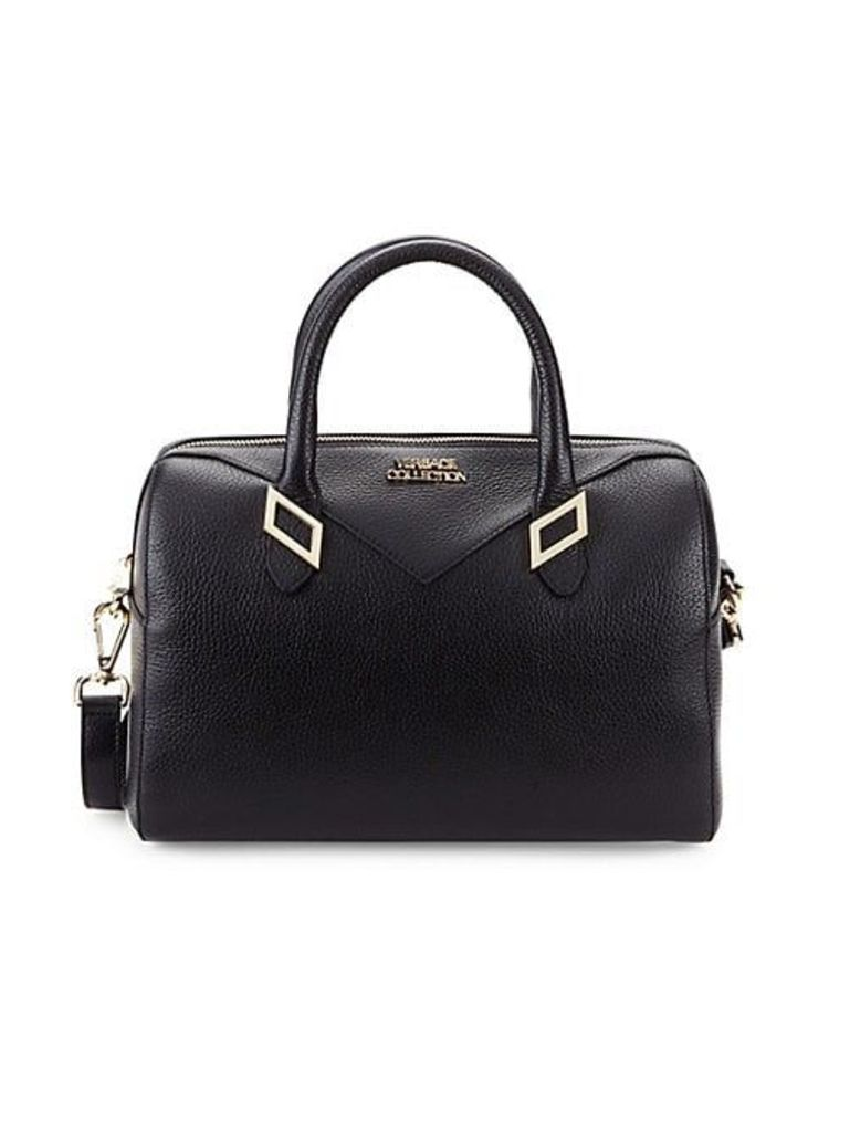 Classic Leather Top Handle Bag